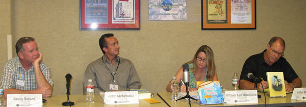 GLAWS Authors Panel on Self-Promotion with Kevin Gerard, John Mehrnann, Gillian Lee Hutshing and John Weiskopf