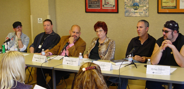 Writers In Collaboration Panel at GLAWS