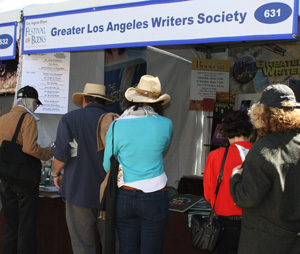 GLAW Booth at the Los Angeles Times Festival of Books