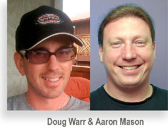 Doug Warr and Aaron Mason speak at GLAWS